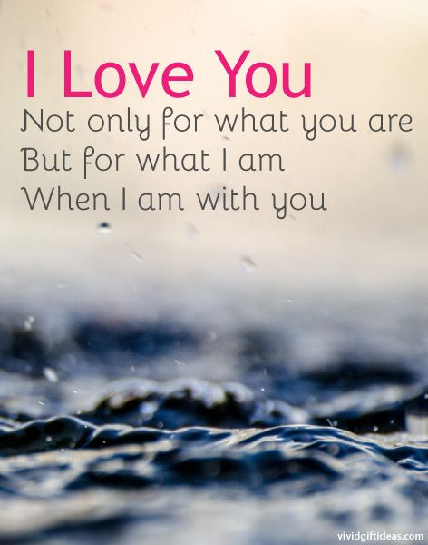 6 Love You Quotes for Him (Valentine