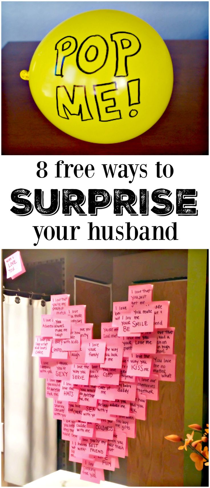 8 Meaningful Ways to Make His Day | DIY Ideas | Pinterest ...