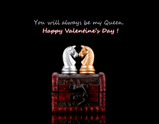 For My Queen! Free Happy Valentine
