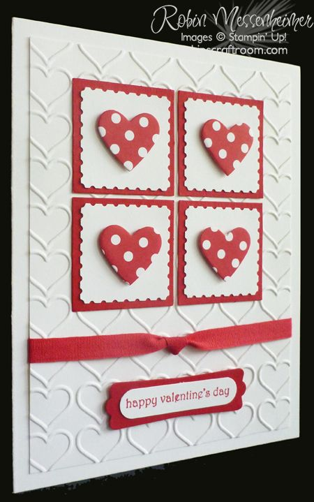 RobinsCraftRoom » Blog Archive » Fun with Valentine Cards ...