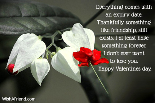 Everything comes with an expiry date., Valentines Day Message For ...