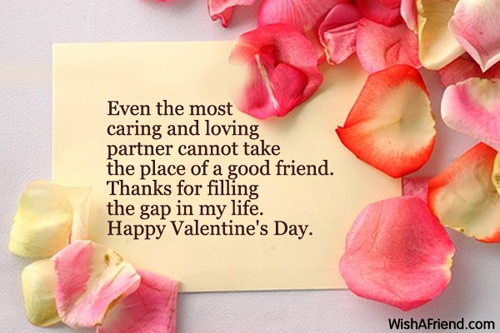 Even the most caring and loving, Valentines Day Message For Friends
