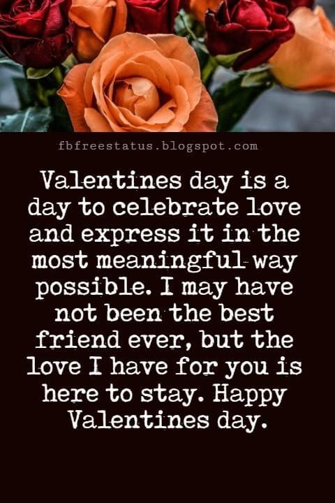 Valentines Day Messages For Friends With Images | Valentines Day ...
