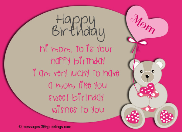 Birthday Wishes for Mother - 365greetings