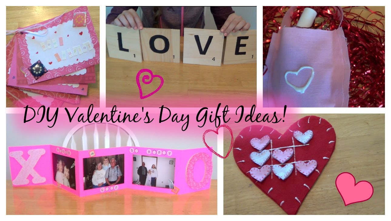 Perfect Last Minute DIY Gifts for Valentine