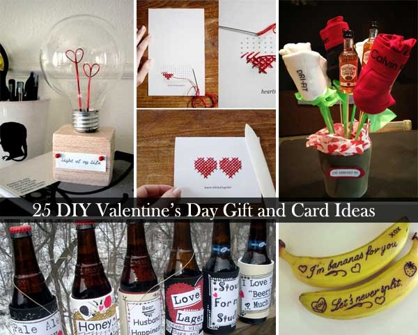 25 Easy DIY Valentines Day Gift and Card Ideas - Amazing DIY ...