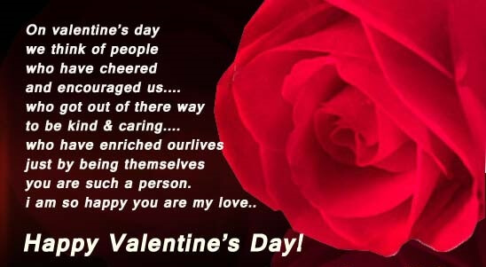 Happy Valentines Day Message 2017 Top Wishes Message For ...