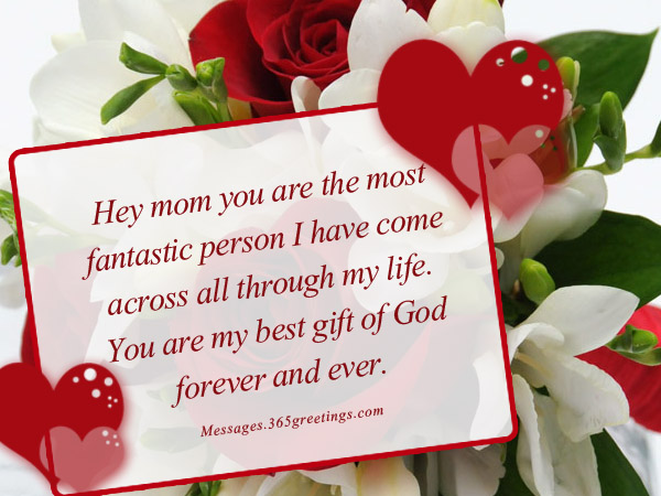 I Love You Mom Messages - 365greetings