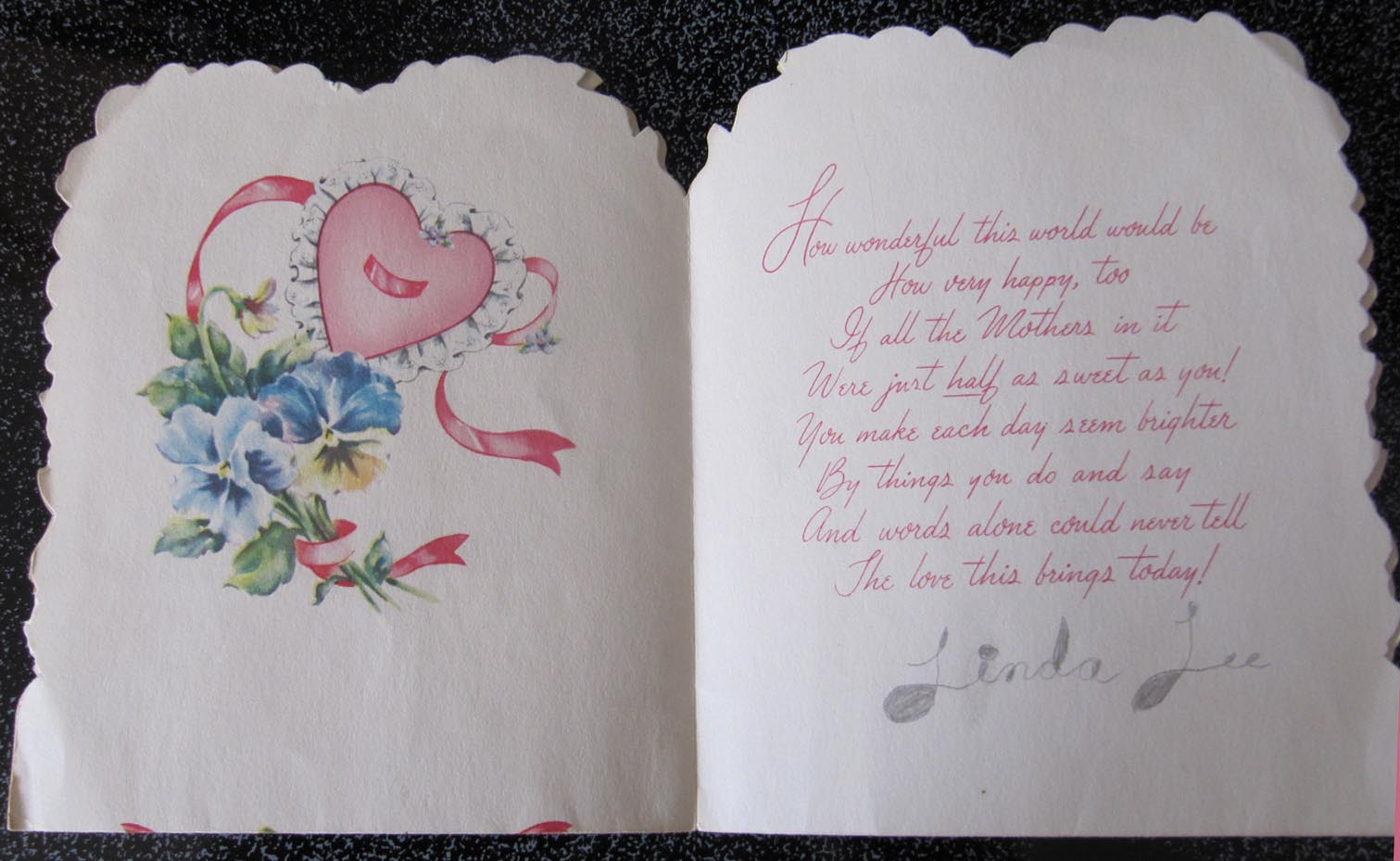 Letters from Lin: Happy Valentine