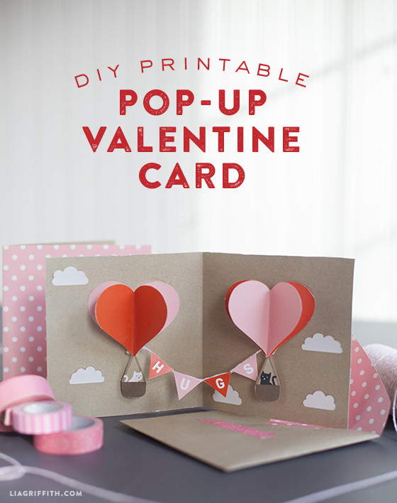 Make Your Own DIY Pop-Up Valentine Card Today!