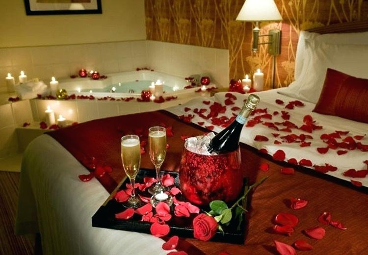 Romantic Bedroom Ideas For Valentines Day Decoration Your Perfect ...