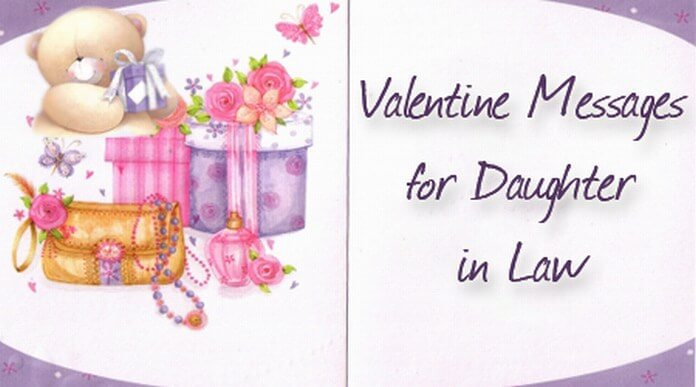 Valentine Messages for Daughter in Law | Daughter Valentine Day Wishes