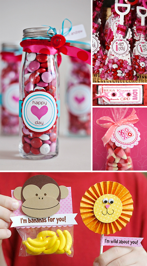 Sharing the Love: 50 Ideas for Making Your Own Valentines – design ...