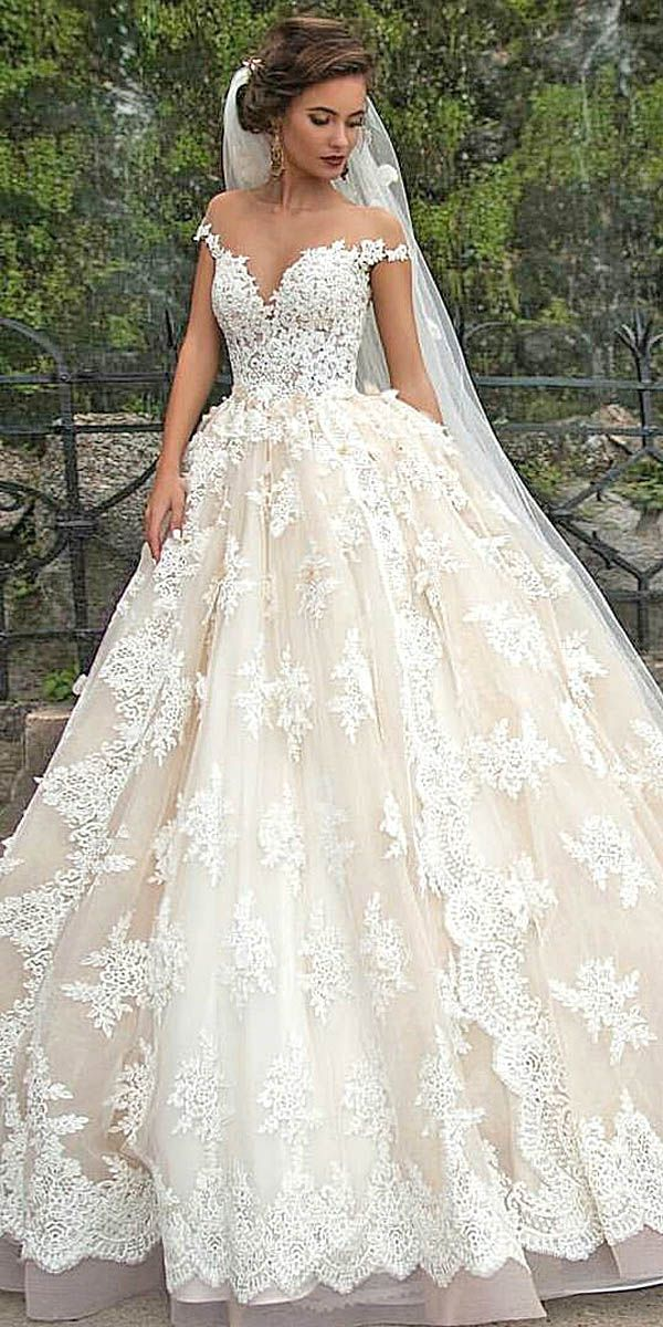 disney off shoulder wedding dresses via milla nova ...
