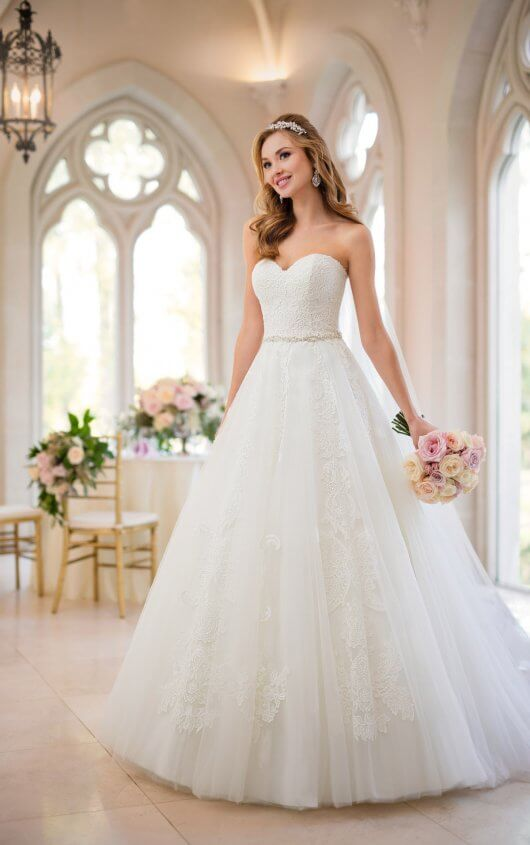 Organza Prinzessin-Brautkleid - Stella York Wedding Dresses