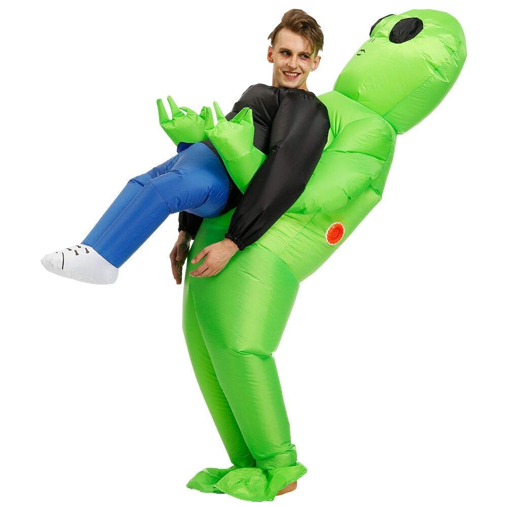 Amazon: RHYTHMARTS Inflatable Alien Costume Easter Costumes ...