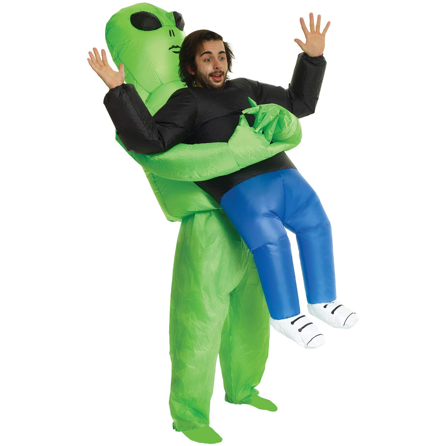 Amazon: Alien Pick Me Up Inflatable Blow Up Costume - One size ...