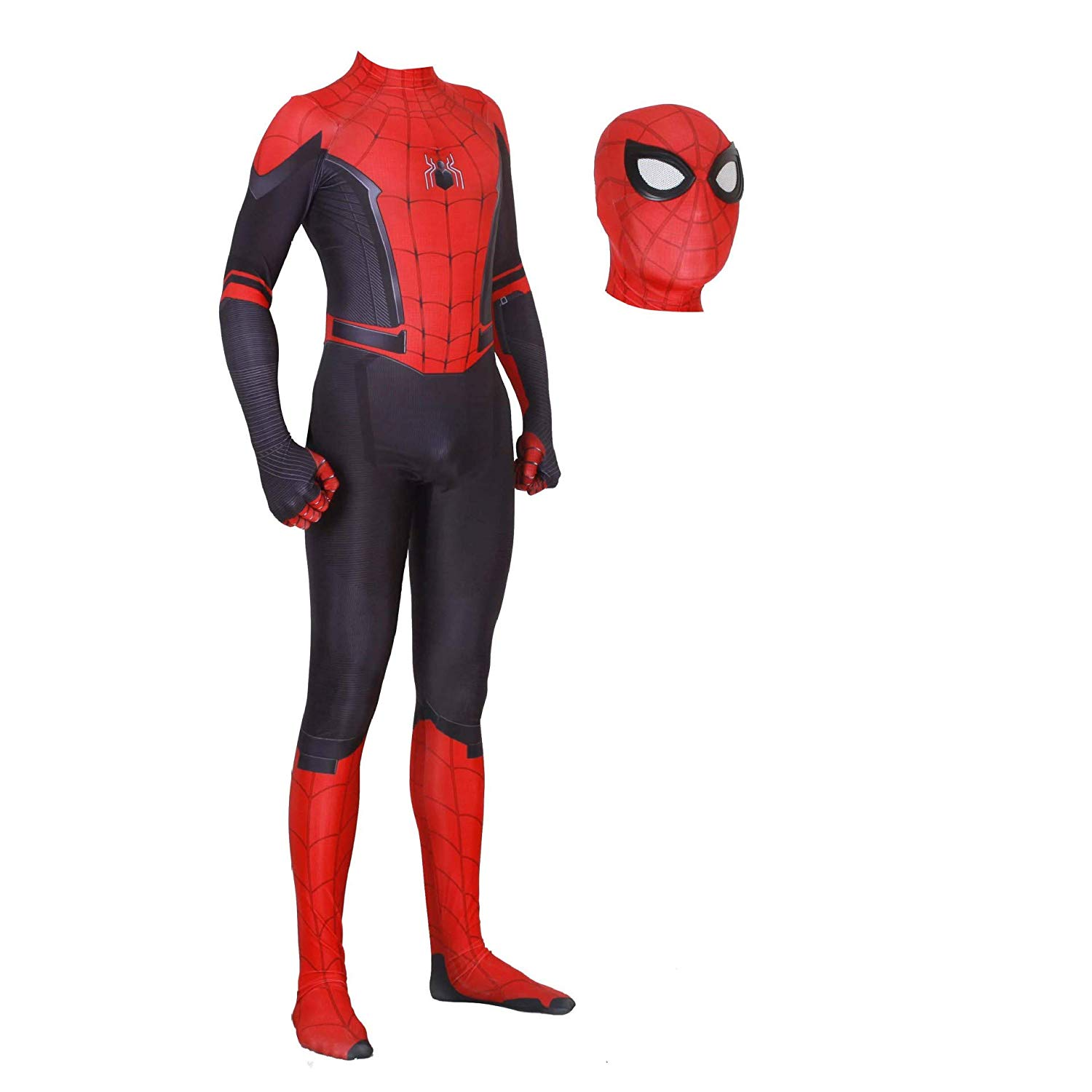 Amazon: FUTUAN New Far from Home Costume Kids Adult Spider ...