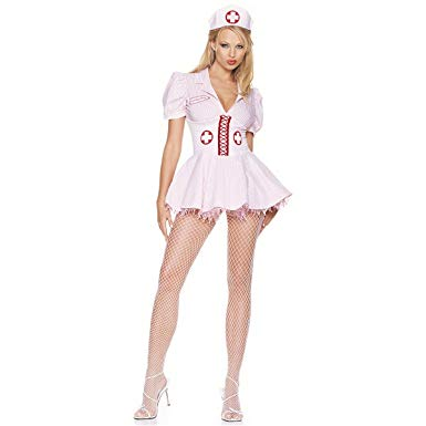 Amazon: Sexy Halloween Costumes Skimpy Outfits Nurse Costume M ...