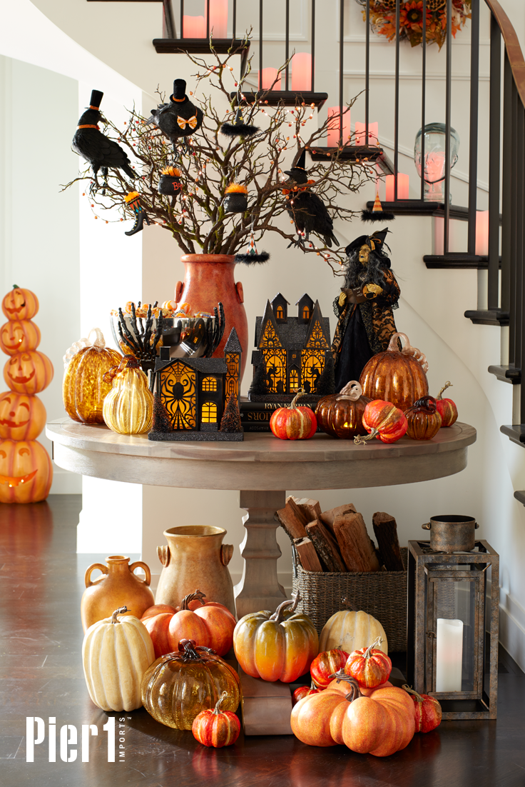 Give visitors a playfully spooky welcome with Halloween decor from ...