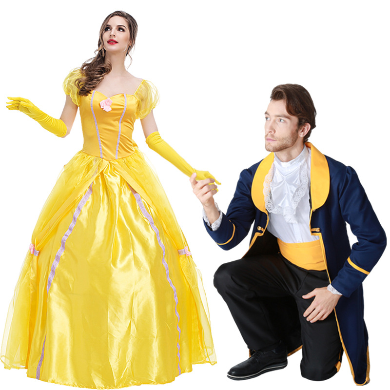 Adult prince beast costume beauty and the beast costume cosplay ...