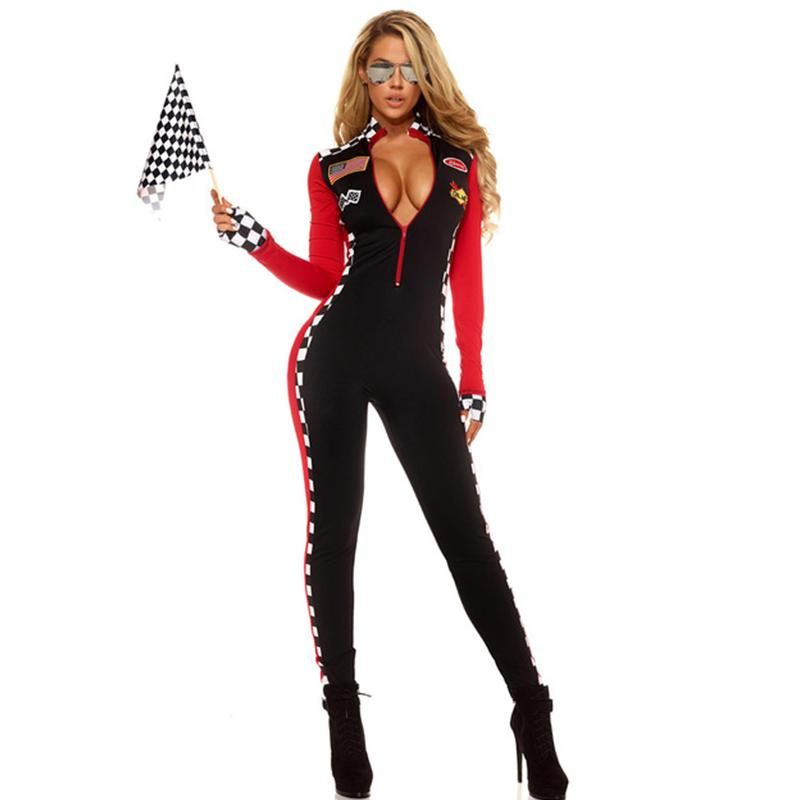 2019 Adult Sports Halloween Costume For Women Top Speed Female ...