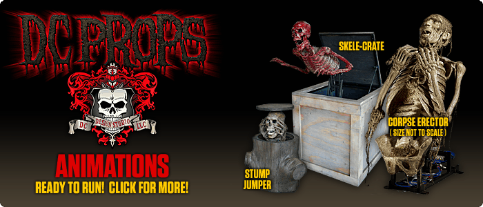 DCProps | Halloween Props, Animated Props, Animation Mechanisms