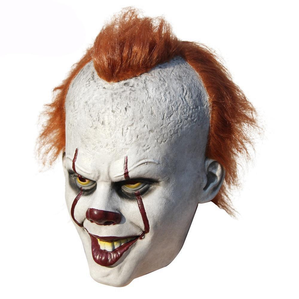 "It"" Clown face mask can be scary and funny Halloween mask at the ..."