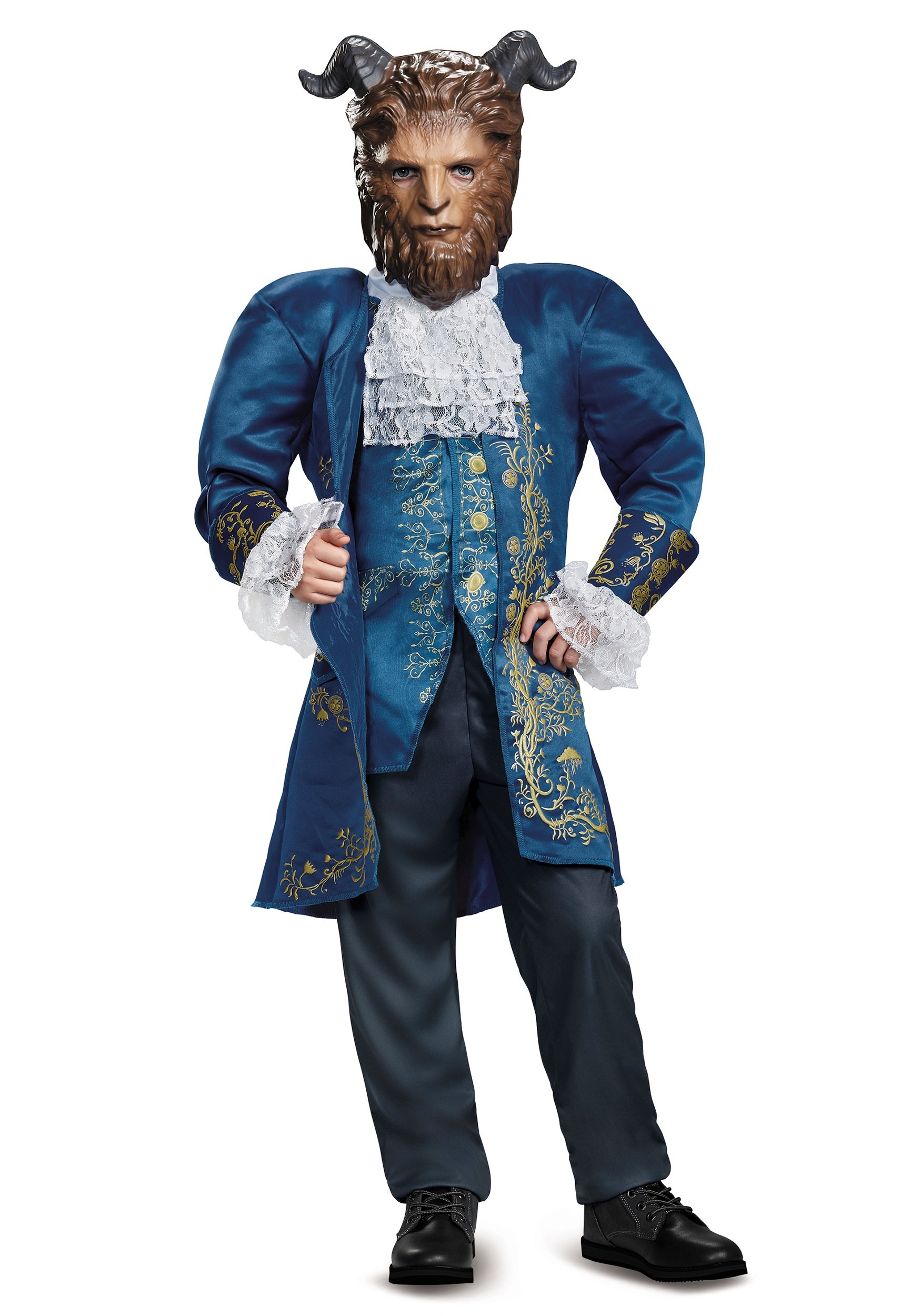 Beauty and the Beast Deluxe Beast Costume for Boys
