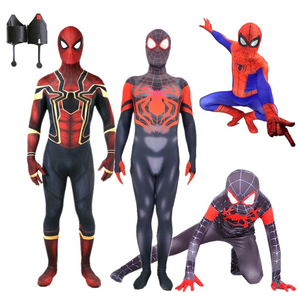 Spider-Man Homecoming Iron Spiderman Costume Halloween Party ...