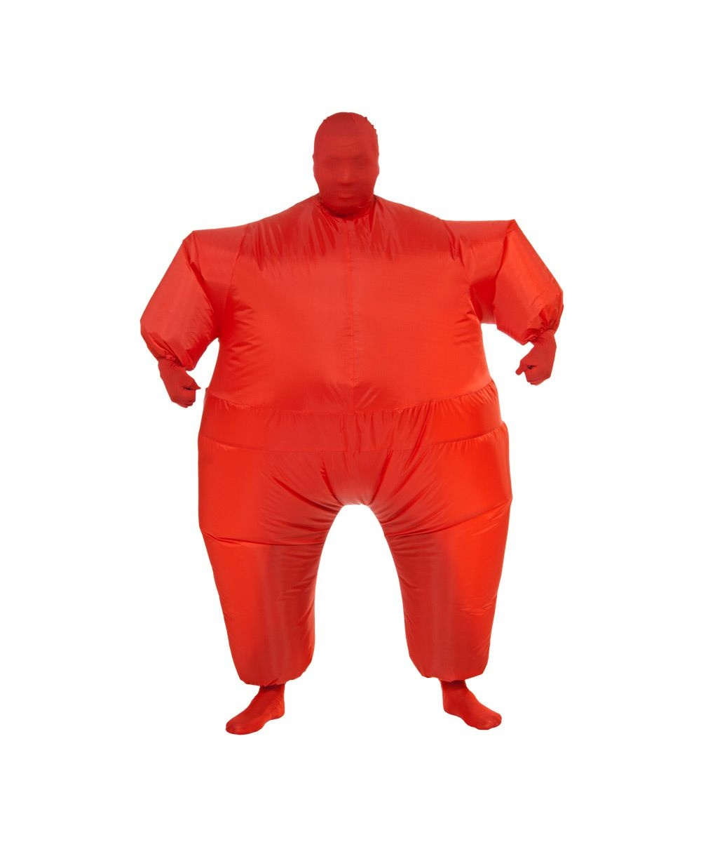 Adult Inflatable Costume Halloween Red - Adult Halloween Costumes