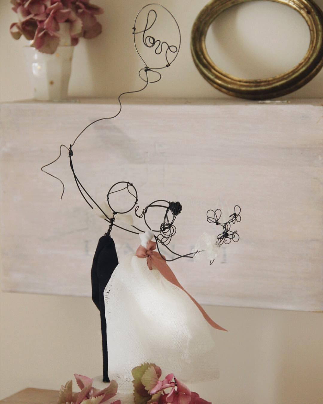 Fly away with me Wedding cake topper Custom order ...
