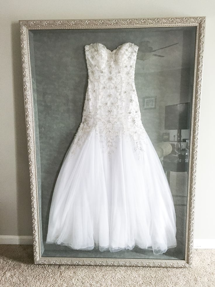 Instead of putting my wedding dress in a box hidden in the ...