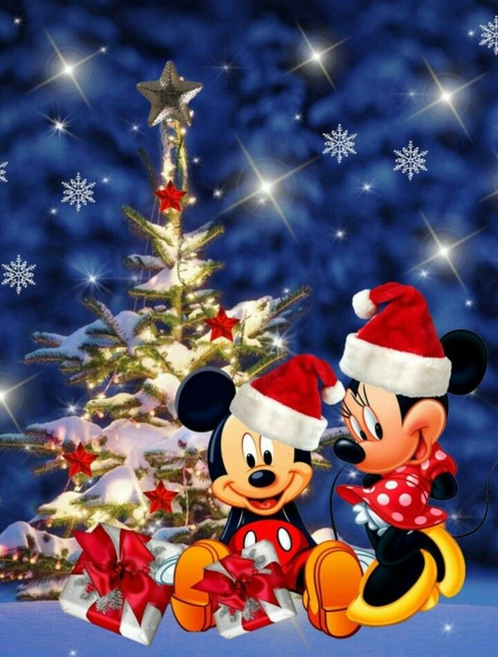 Christmas- Disney- Mickey & Minnie Mouse | ️ CHRISTMAS ...