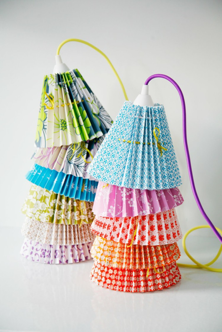 Lamp Shades Themselves Do - 30 Inspirational Craft Ideas