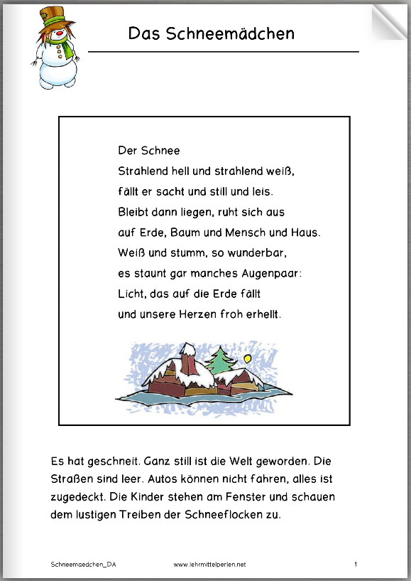 Pfahlbauer | Deutsch | Christmas poems, Stories for kids ...