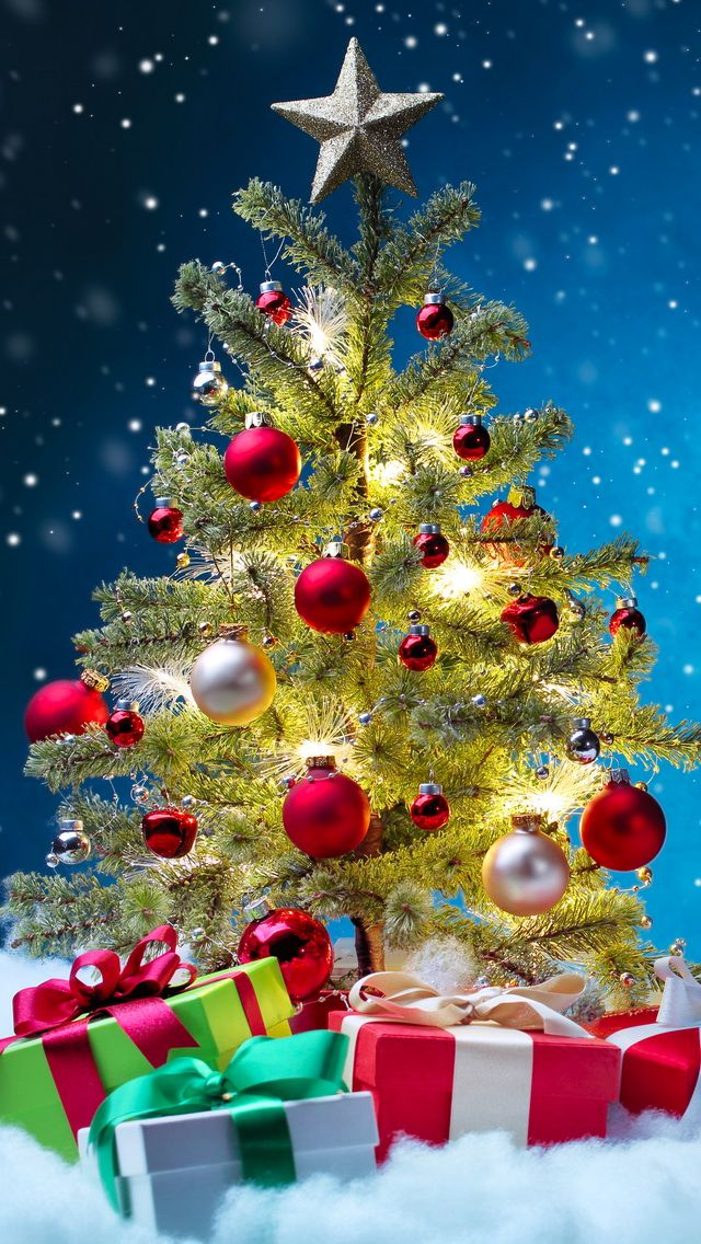 Tap image for more Christmas Wallpapers! Christmas Tree ...